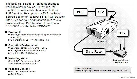 poe供电分离器